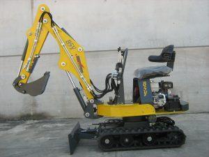 Micro escavatore b5